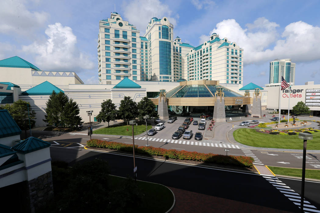 Foxwoods Resort Casino in Mashantucket, Conn. is seen from the high stakes bingo patio Saturday, Aug. 25, 2018. K.M. Cannon Las Vegas Review-Journal @KMCannonPhoto