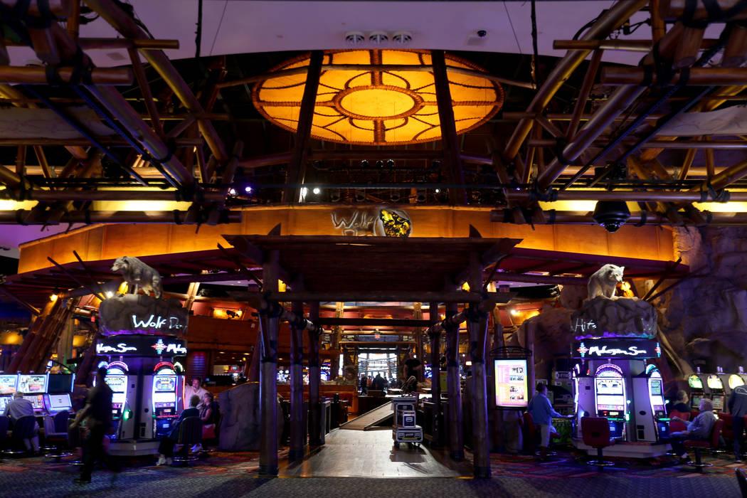 Wolf Den entertainment venue at Mohegan Sun casino in Uncasville, Conn. Saturday, Aug. 25, 2018. K.M. Cannon Las Vegas Review-Journal @KMCannonPhoto
