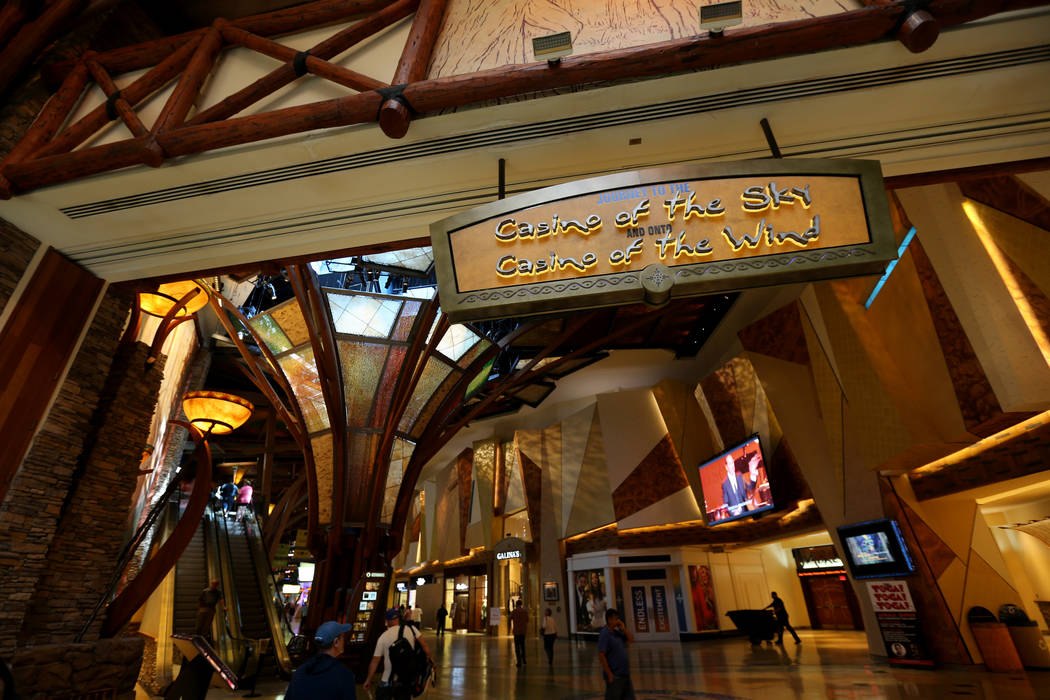 The Shops at Mohegan Sun at Mohegan Sun casino in Uncasville, Conn. Saturday, Aug. 25, 2018. K.M. Cannon Las Vegas Review-Journal @KMCannonPhoto
