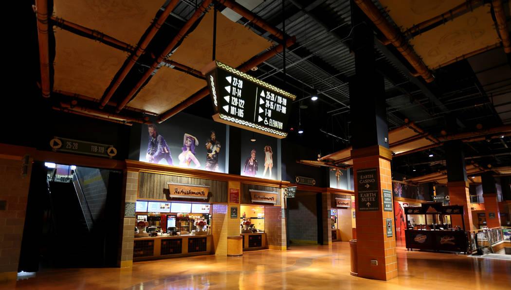 Mohegan Sun Arena at Mohegan Sun casino in Uncasville, Conn. Saturday, Aug. 25, 2018. K.M. Cannon Las Vegas Review-Journal @KMCannonPhoto