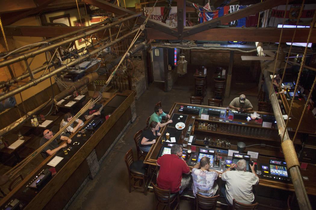 The Crown & Anchor British Pub on Sunday, June 4, 2017, on Tropicana in Las Vegas. Rachel Aston Las Vegas Review-Journal @rookie__rae