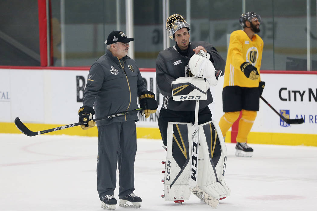 Golden Knights Will Have To Adjust To New Goalie Pad Rules Las