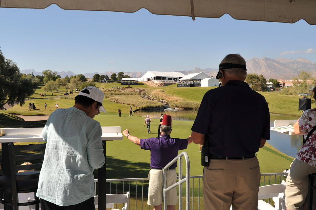 Behind-the-scene volunteers make a huge impact at golf's every level, including the PGA Tour's Shriners Hospitals for Children Open at TPC Summerlin each November. Brian Hurlburt/Special to the Re ...