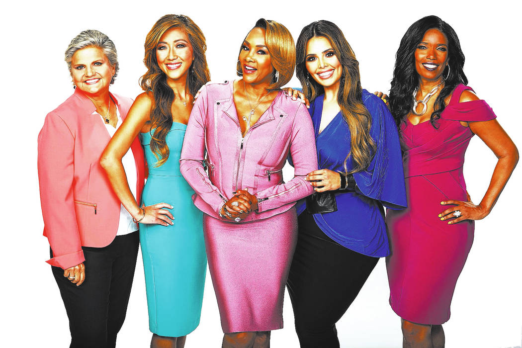 Judge Mary Chrzanowski, Dr. Judy Ho, Vivica A. Fox, Rosie Mercado, and Areva Martin, hosts of the CBS series FACE THE TRUTH, scheduled to air on the CBS Television Network. Photo: Sonja Flemming/ ...