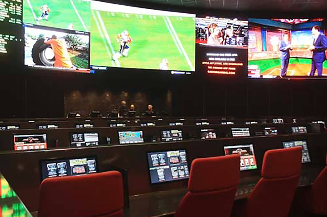 Race and Sports Book at the Palms. (Las Vegas Review-Journal)