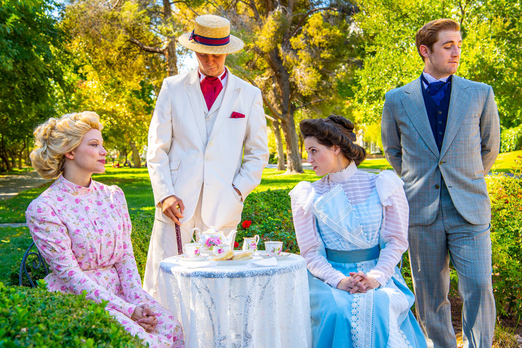 """NCT's """"The Importance of Being Earnest"""" (Richard Brusky)"""