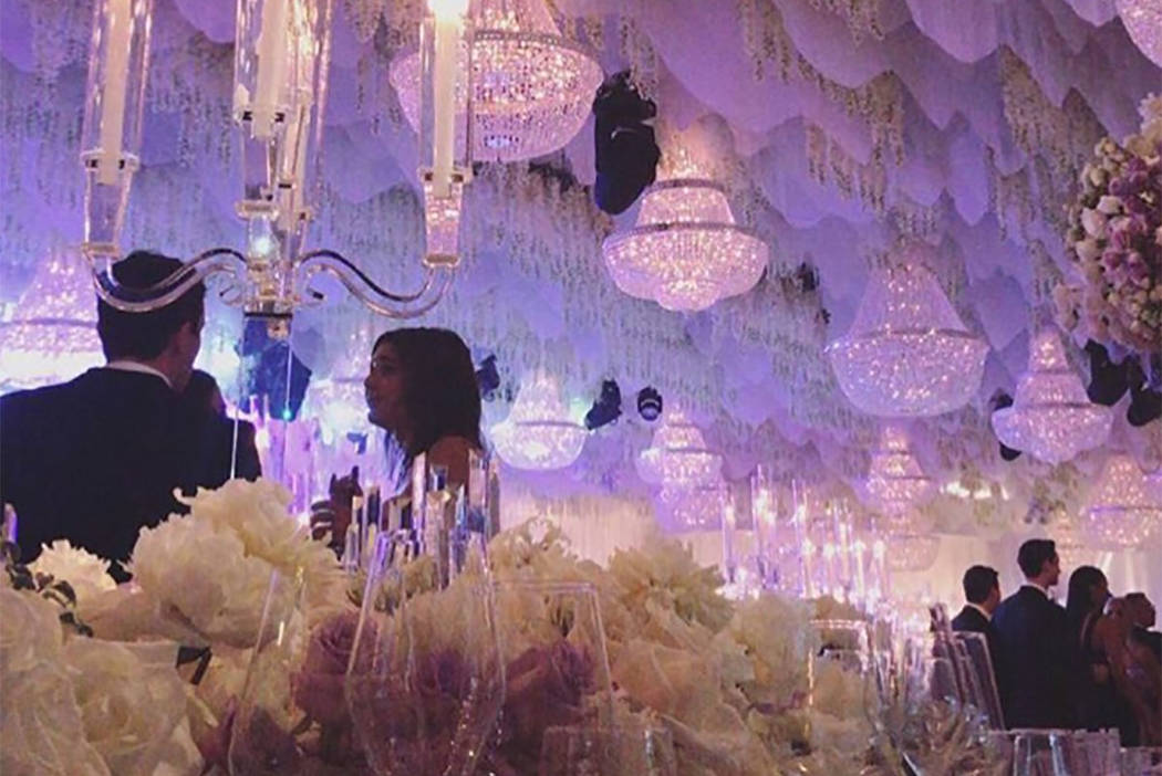 Fertitta Wedding Exudes 25m Extravagance In Las Vegas Las Vegas