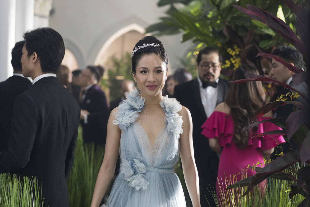 "Constance Wu stars in a scene from the film ""Crazy Rich Asians."" (Sanja Bucko/Warner Bros. Entertainment via AP)"