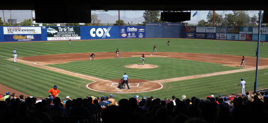Fans get ready for the final Las Vegas 51s game ever at Cashman Field in Las Vegas Monday, Sept. 3, 2018. Las Vegas beat Sacramento 4-3. The team will move to a new stadium in Summerlin next seaso ...