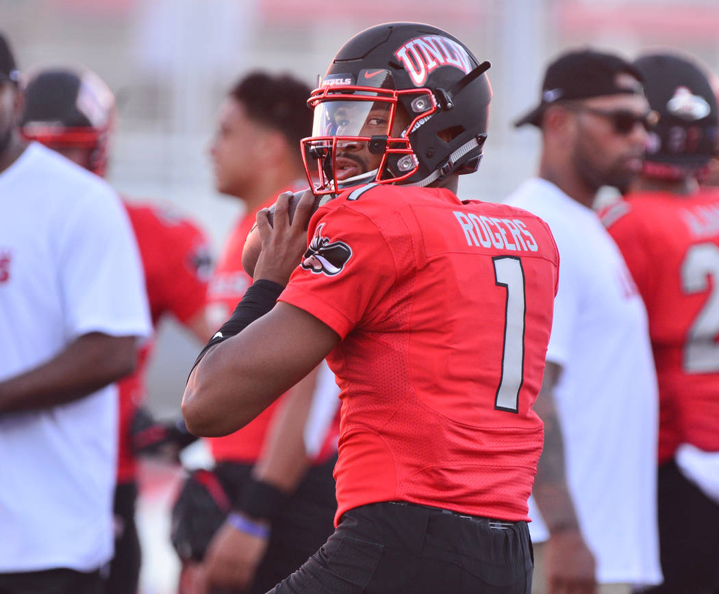 finest selection 4b9be 9cd79 UNLV runs all over UTEP, 52-24 | Las Vegas Review-Journal