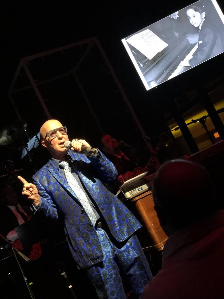 Paul Shaffer is shown at Cleopatra's Barge on Thursday, Jan. 4, 2018. (John Katsilometes/Las Vegas Review-Journal) @JohnnyKats