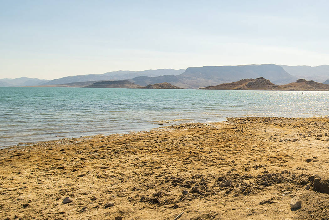 Boulder Beach is seen at Lake Mead(Las Vegas Review-Journal)
