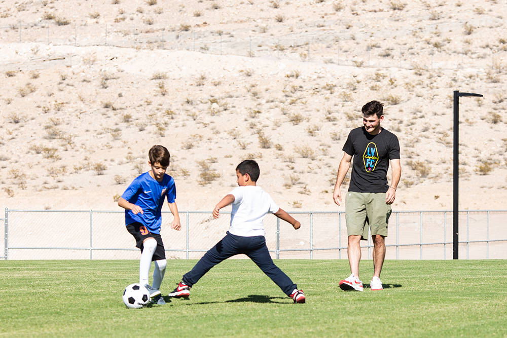 The new 17-acre Olympia Sports Park in Southern Highlands features three sports fields. (Southern Highlands)
