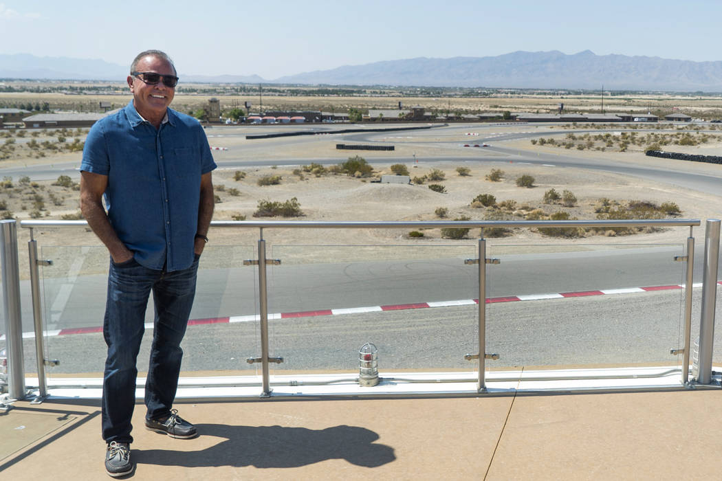 John Morris, owner of Spring Mountain Motor Resort and Country Club, poses for a photograph in Pahrump, Wednesday, Aug. 15, 2018. (Marcus Villagran/Las Vegas Review-Journal) @MarcusVillagran
