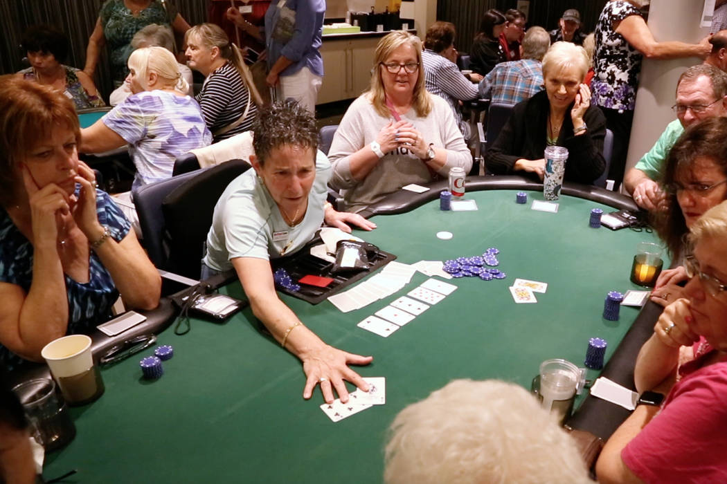 """Jan Fisher appears in a scene from the poker documentary """"Cracking Aces: A Woman's Place at the Table."""""""