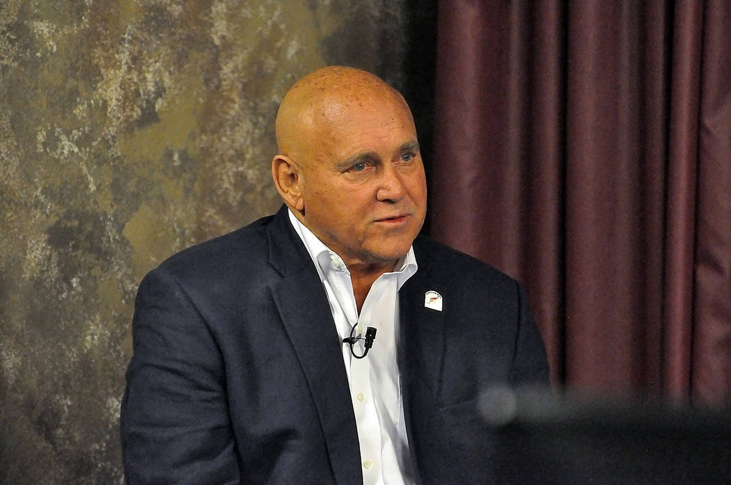 Dennis Hof is among the candidates seeking to win the Assembly District 36 seat. (Horace Langford Jr./Pahrump Valley Times)