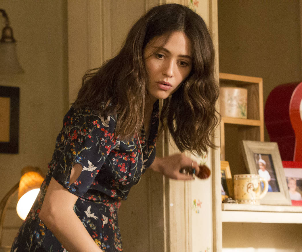 "Emmy Rossum stars as Fiona Gallagher in ""Shameless."" (Paul Sarkis/SHOWTIME)"