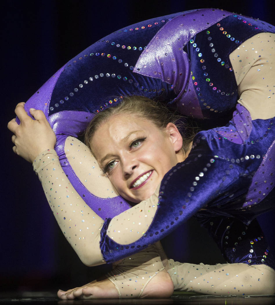 The International Congress of Contortionists on Wednesday, Sept. 5, 2018, at Sunset Station, in Las Vegas. Benjamin Hager Las Vegas Review-Journal @benjaminhphoto