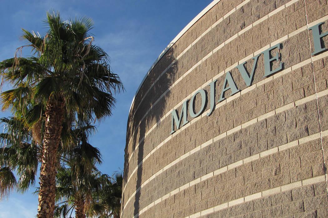 Mojave High School (Greg Haas/Las Vegas Review-Journal)