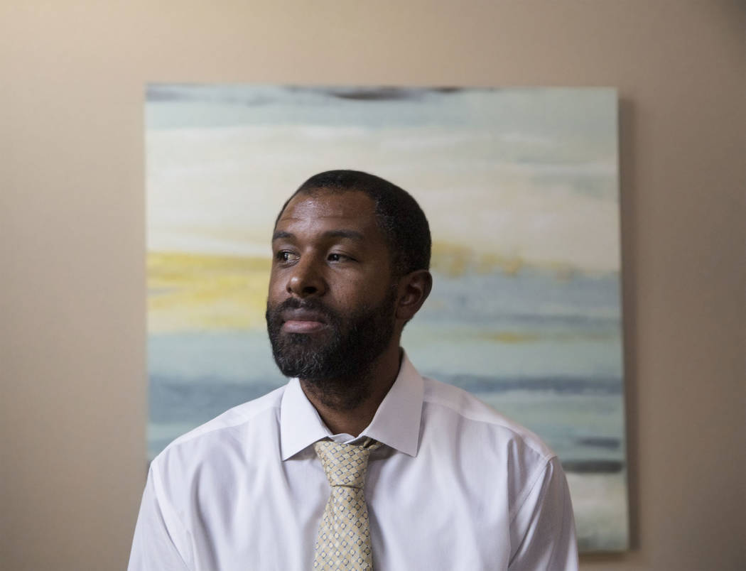 Licensed mental health therapist Sheldon Jacobs reflects on his upcoming experiment where he will live on the streets for 48 hours to gain perspective on issues of homelessness. Photo taken on Fri ...