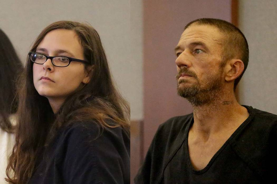 Cassie Smith and Joshua Oxford are facing charges in the death of her 3-year-old son, Daniel Theriot. (Michael Quine/Las Vegas Review-Journal) @Vegas88s