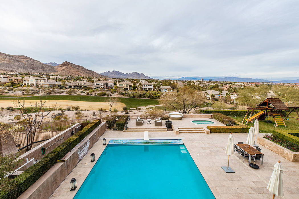This 12,852-square-foot, three-level estate is listed for $9,995,000. (Ivan Sher Group)