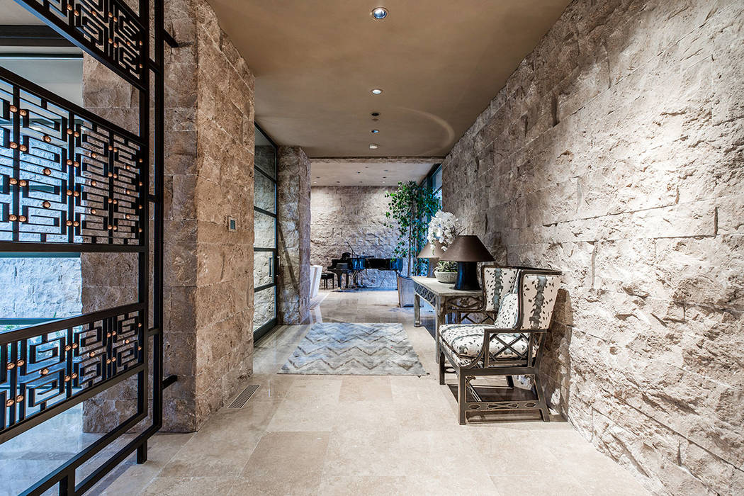 The foyer opens to a private reception area. (Ivan Sher Group)