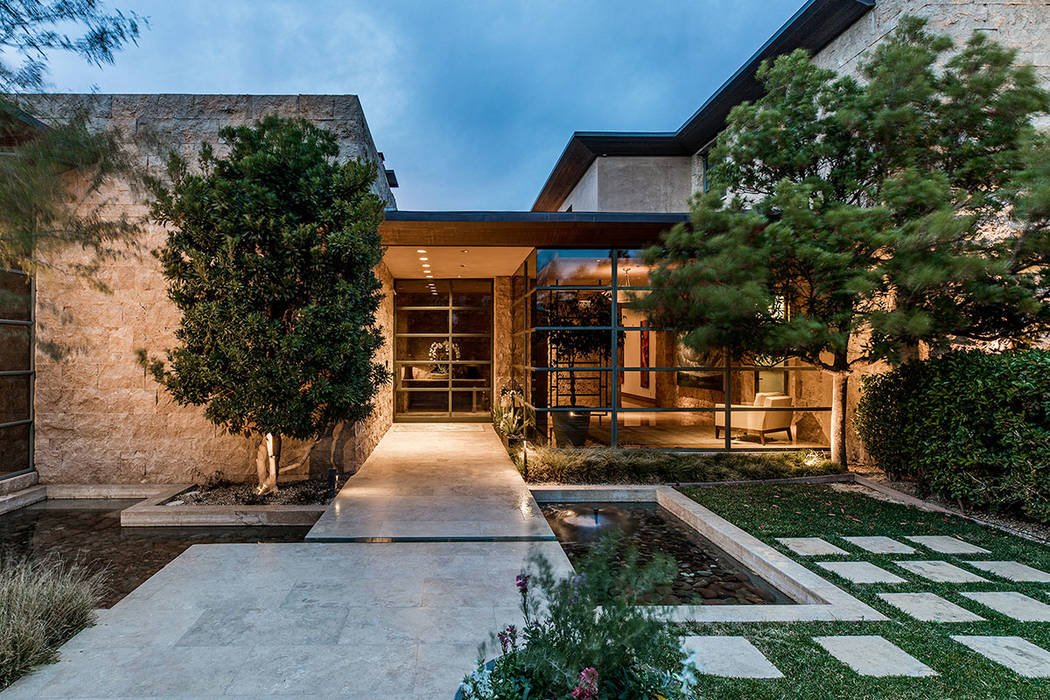 The home in The Ridges in Summerlin is listed for nearly $10 million. (Ivan Sher Group)