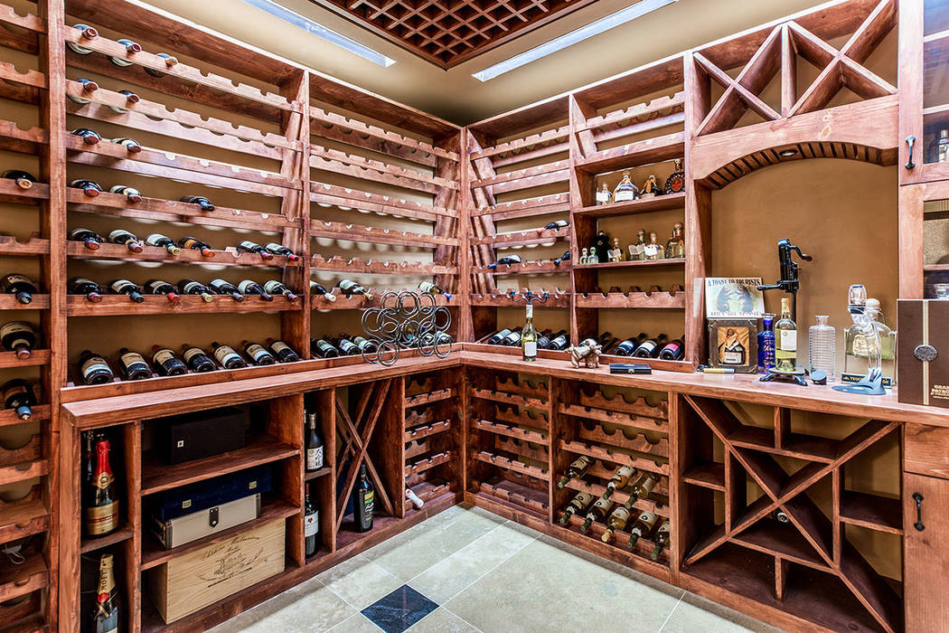The wine cellar. (Ivan Sher Group)
