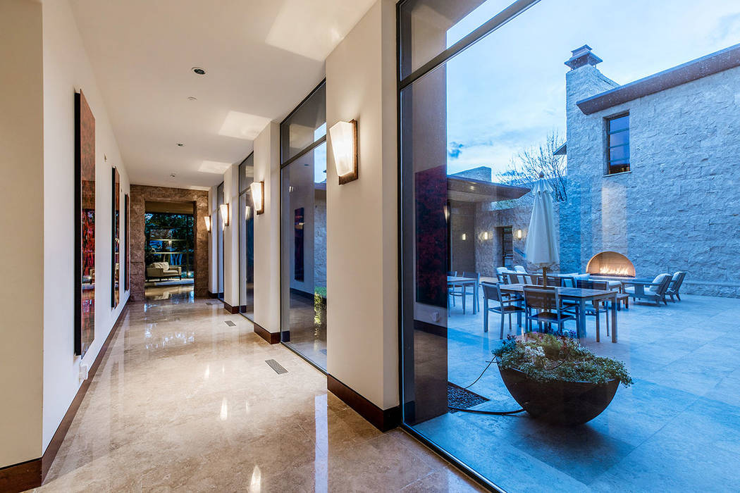 There is a central courtyard. (Ivan Sher Group)