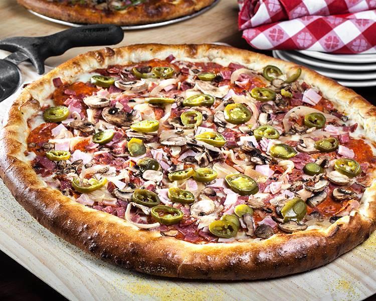 Double Down Pizza at Slice of Vegas (Slice of Vegas)