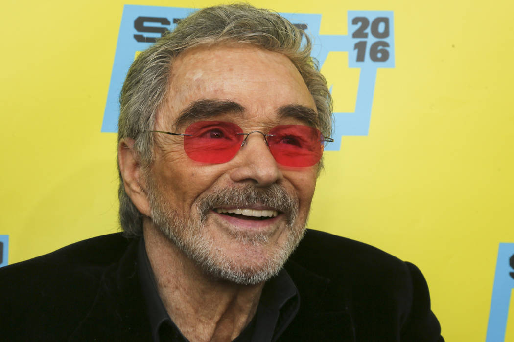 """Burt Reynolds is seen at the world premiere of """"The Bandit"""" at the Paramount Theatre during the South by Southwest Film Festival on Saturday, March 12, 2016, in Austin, Texas. (Photo by ..."""