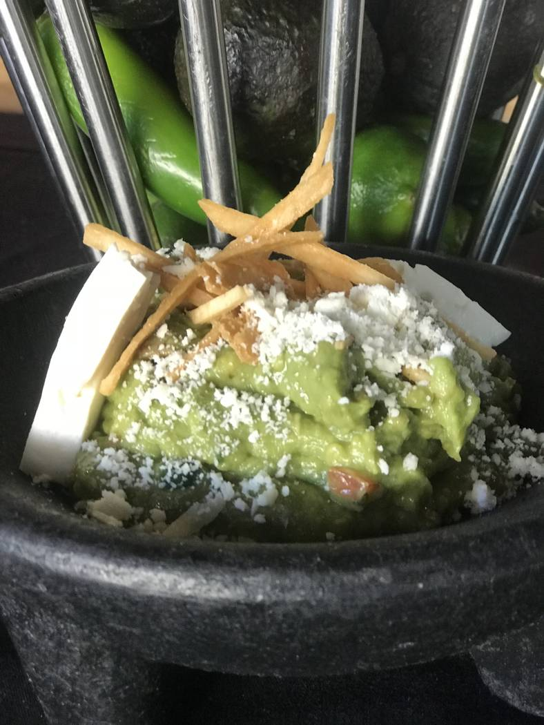 Station Casinos Guacamole at Leticia's Cocina & Cantina