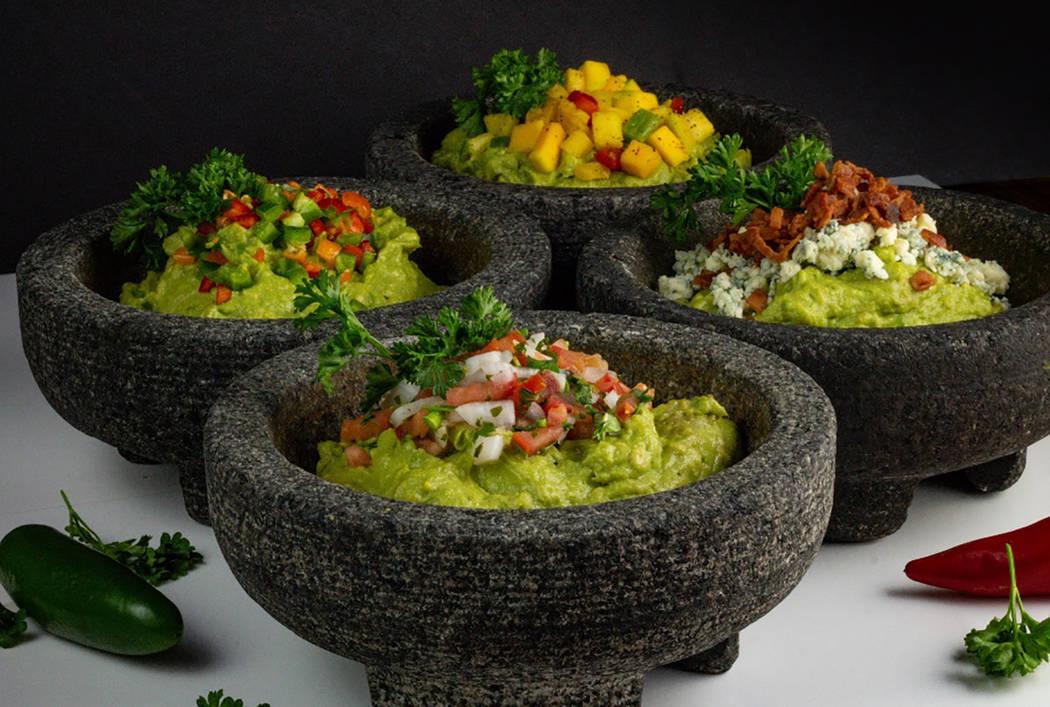 El Dorado Cantina serves tableside guacamole with three limited-edition versions. (El Dorado Cantina)