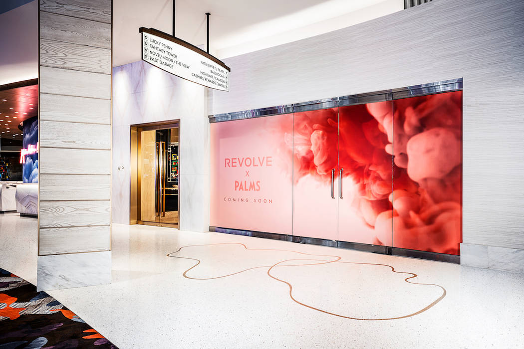 A rendering of the Revolve storefront to be located at Palms Las Vegas. (Clint Jenkins)