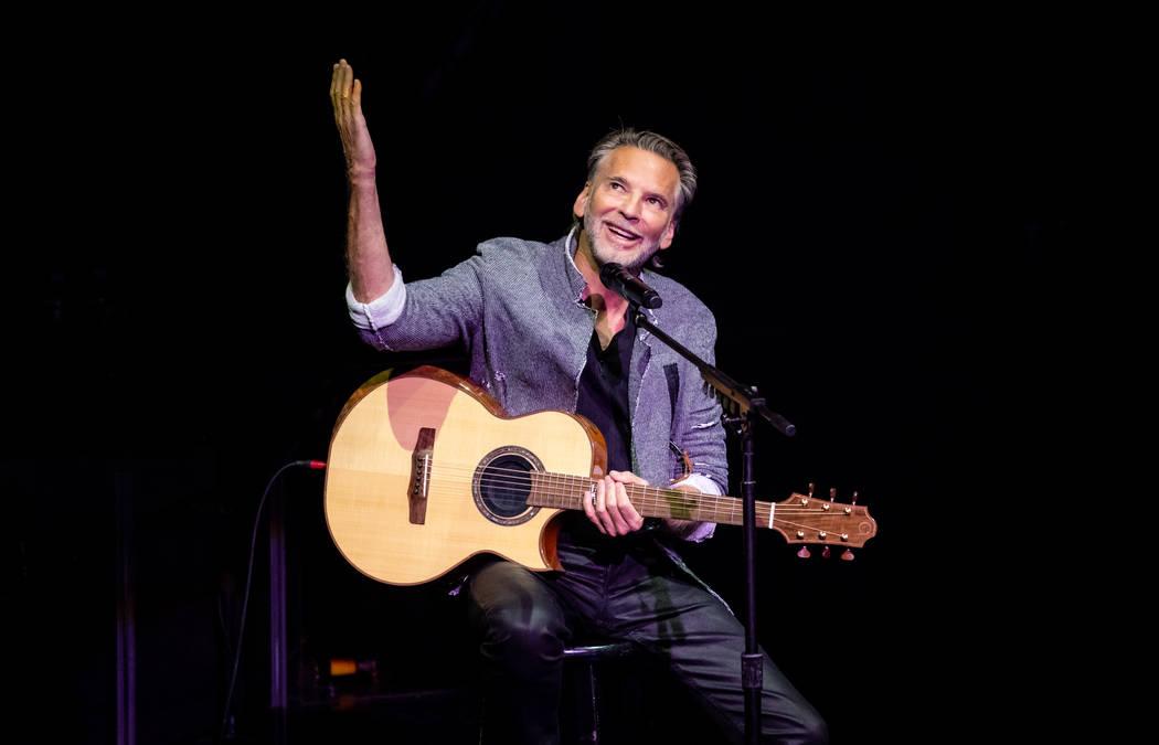Kenny Loggins is shown on his opening night of a three-show run at Wynn Las Vegas on Wednesday, Sept. 5, 2108 (Erik Kabik Photography)