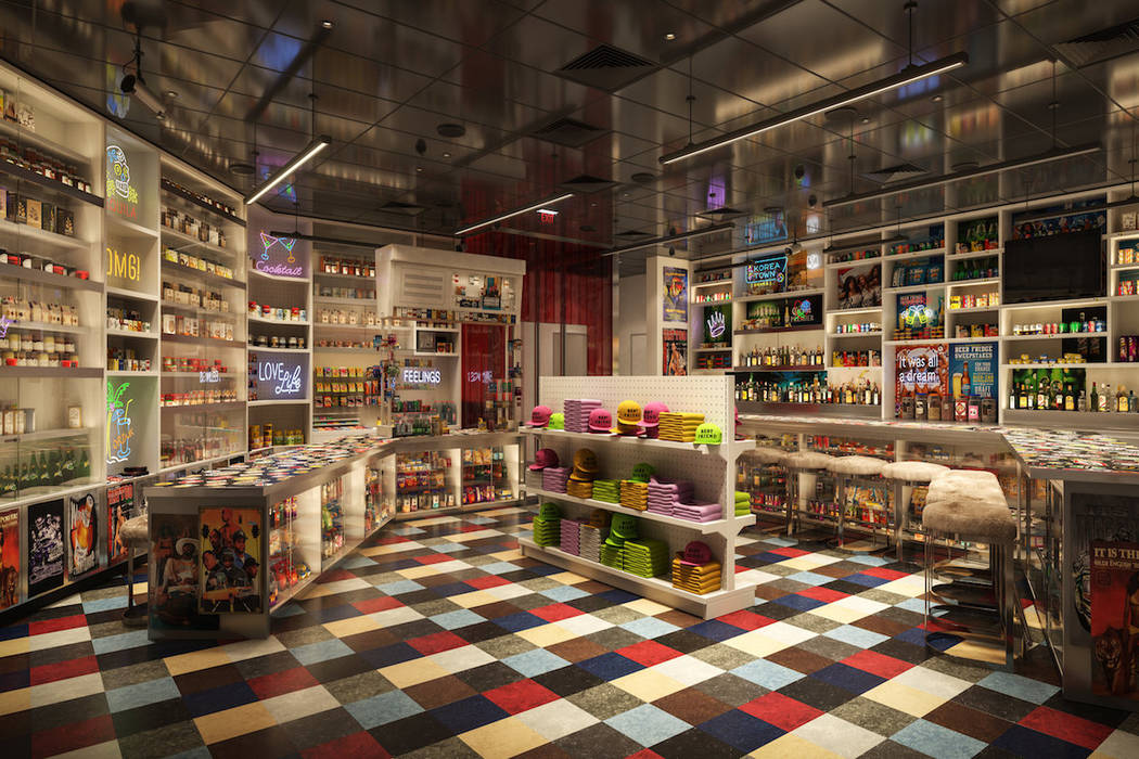 A rendering of the entrance to Roy Choi's Bestfriend restaurant on the Las Vegas Strip. (MGM Resorts International)