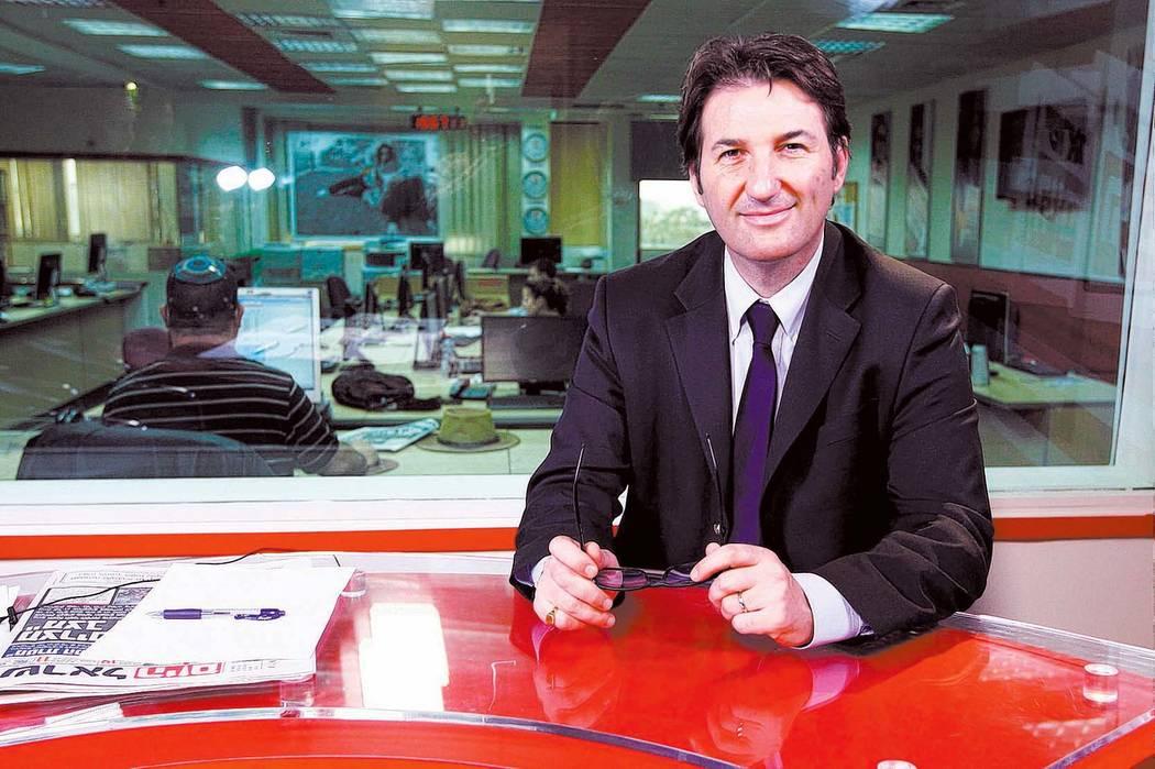 Boaz Bismuth, editor in chief of Israel Hayom, Israel's largest daily circulation newspaper. (Israel Hayom)