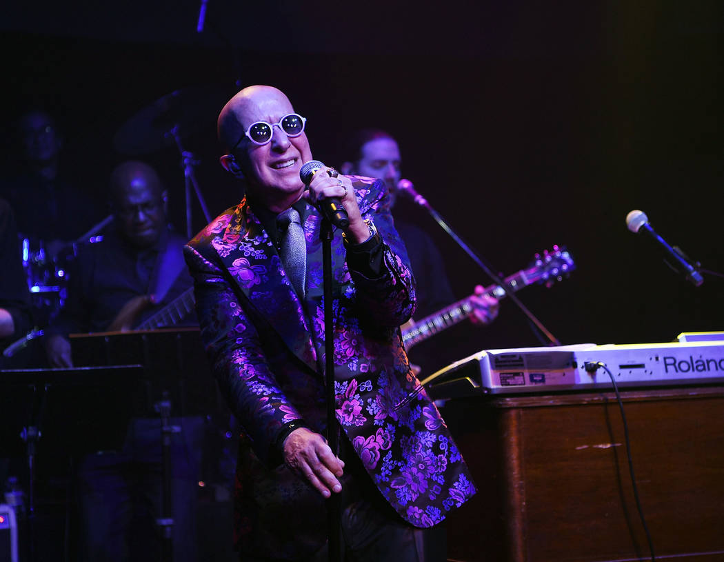 Paul Shaffer performs at Cleopatra's Barge at Caesars Palace on September 6, 2018 in Las Vegas. (Photo by Denise Truscello/WireImage)