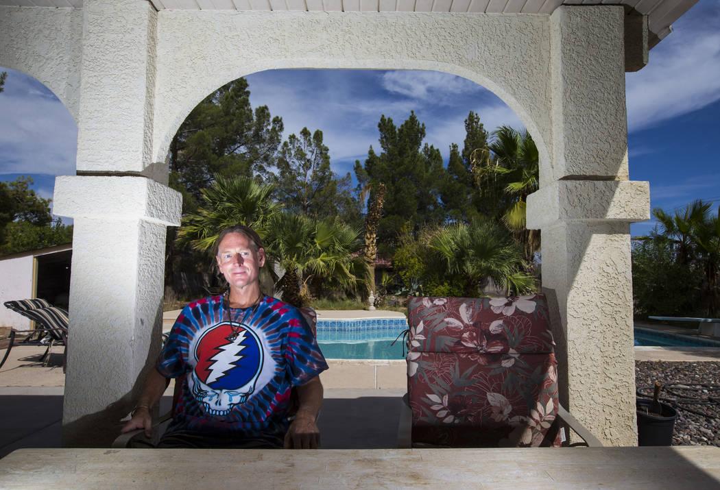 Timothy Tyler at his sister's home in Las Vegas on Aug. 24, 2018. Chase Stevens Las Vegas Review-Journal @csstevensphoto