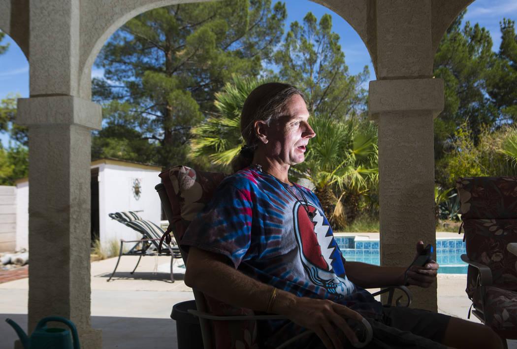 Timothy Tyler in Las Vegas on Aug. 24, 2018. Chase Stevens Las Vegas Review-Journal @csstevensphoto
