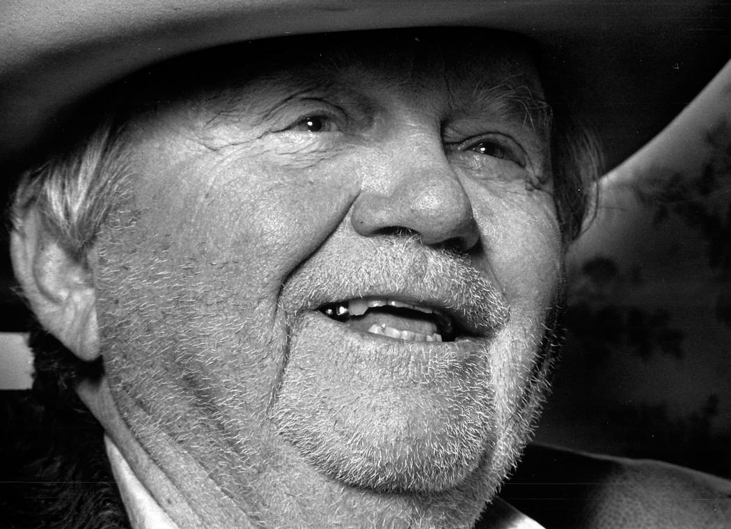 "Undated photo of Benny Binion, also known as the ""Cowboy."" (File Photo)"