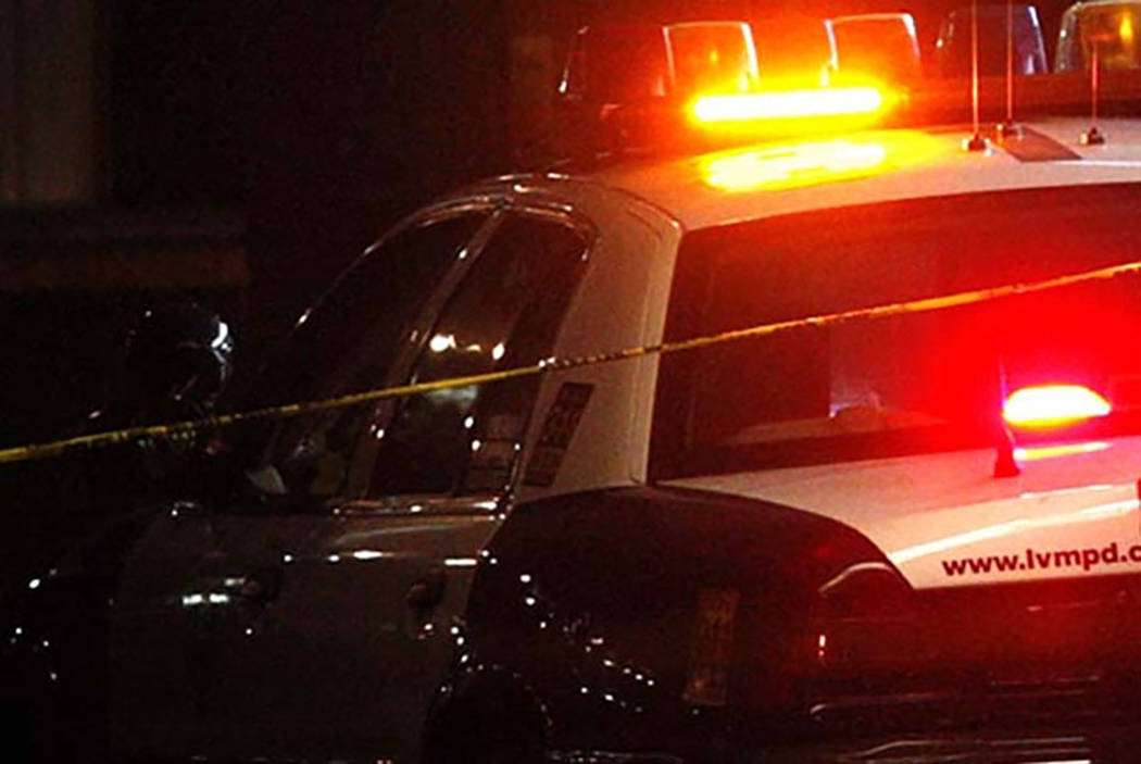 A man was hospitalized after being shot in North Las Vegas Friday night, according to police. (Las Vegas Review-Journal file)