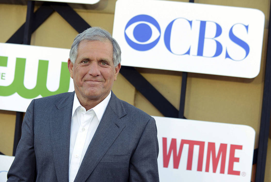 Les Moonves arrives at the CBS, CW and Showtime TCA party at The Beverly Hilton in Beverly Hills, Calif., in 2013. (Photo by Jordan Strauss/Invision/AP)