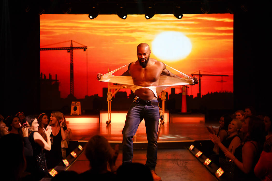 Tyson Beckford performs in Chippendales at The Rio on Friday, April 7, 2017, in Las Vegas. (Denise Truscello/WireImage)