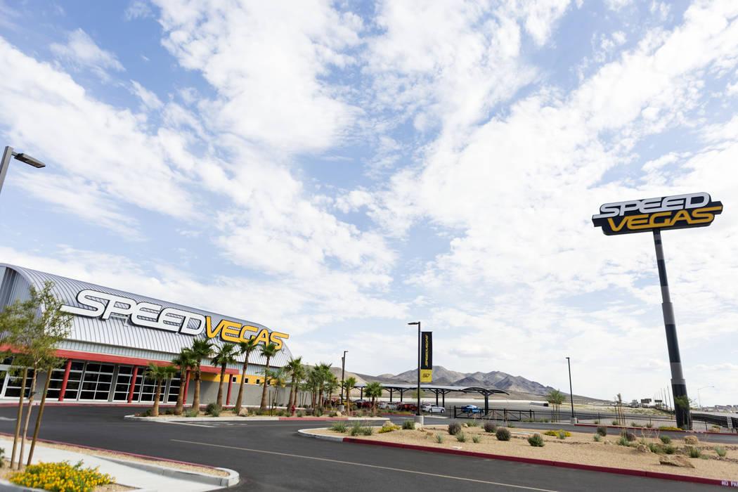The Las Vegas Motor Speedway in Las Vegas, Monday, July 25, 2017. Elizabeth Brumley Las Vegas Review-Journal