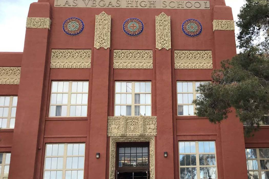 Las Vegas Academy of the Arts. (Erik Verduzco/Las Vegas Review-Journal)