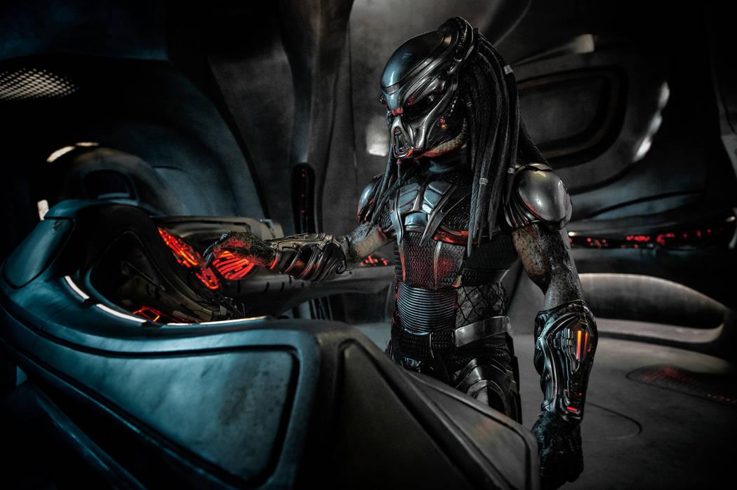 The Predator in Twentith Century Fox's THE PREDATOR. Photo Credit: Kimberley French.