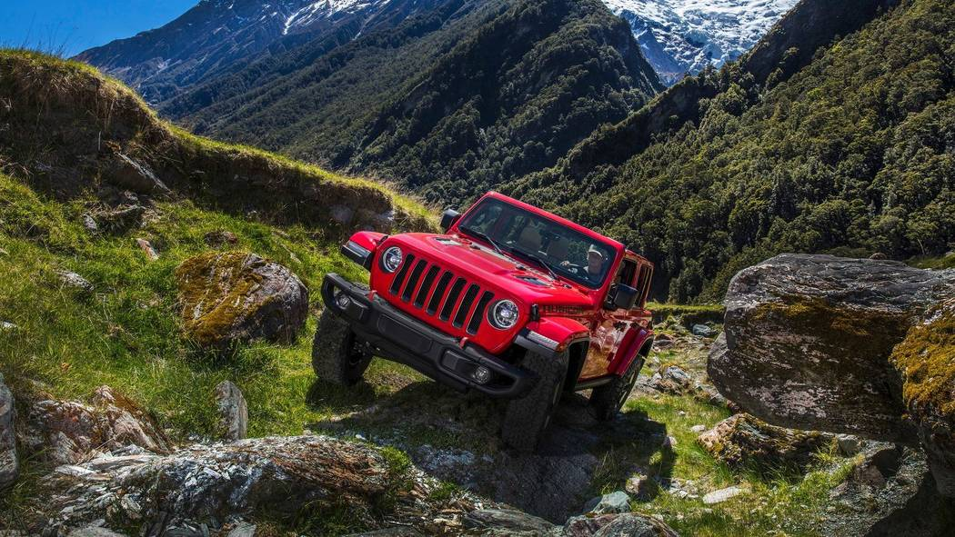 Chapman's 2018 Jeep Wrangler delivers off-road capability even through the most rugged terrain. (Jeep)