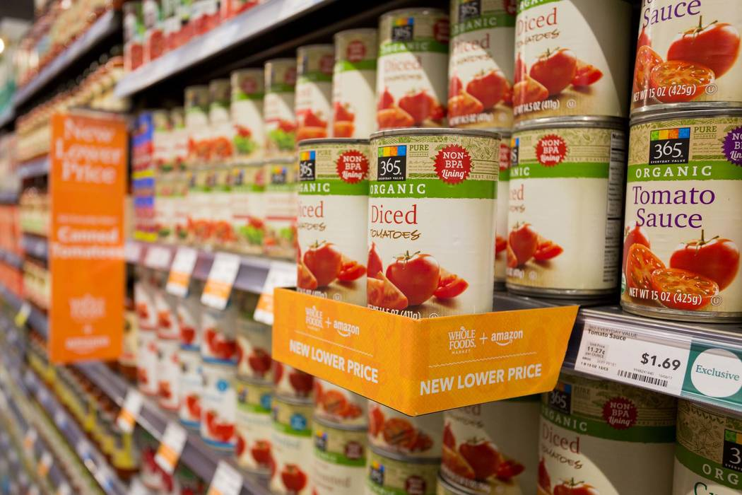 365 Everyday Value diced tomatoes (Georg Beyer/Whole Foods Market)